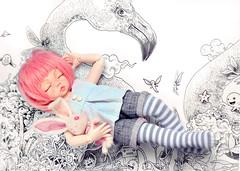 Dreams... (Fenekdolls) Tags: bjd doll littlefeeante fairyland
