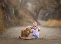 Best Friends ({jessica drossin}) Tags: jessicadrossin portrait photography beautiful baby toddler pet friends pals nature animals childhood wwwjessicadrossincom