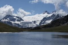 lac des Autannes, glacier de Moiry (bulbocode909) Tags: valais suisse moiry grimentz valdanniviers lacdesautannes glacierdemoiry glaciers montagnes lacs eau neige nuages paysages bleu vert groupenuagesetciel