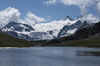 lac des Autannes, glacier de Moiry