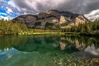 Cascade Mountain Morning Reflection