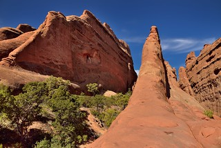 A Walk Amongst the Sandstone Fins (Arches National Park)