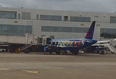 Aerosmurf: Brussels Airlines (chaserray) Tags: smurfs aerosmurf brusselsairlines airplane