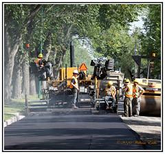Men at Work - Road Resurfacing (Bill E2011) Tags: men work roads resurfacing machines canada
