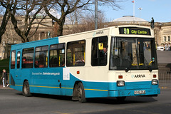 1242 N242 CKA (Cumberland Patriot) Tags: arriva north west england on merseyside in liverpool dennis dart elc east lancs el2000 1242 n242cka