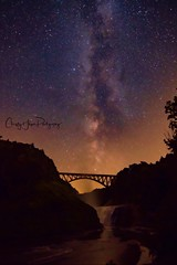 Milky Way over Letchworth SP (Christy Hibsch ( Christy's Creations on Facebook )) Tags: letchworthstatepark letchworth wny stateparks milkyway nightsky iloveny wyomingcounty waterfalls