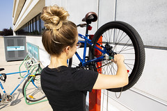 RRC_Sustainability_July 2018-036 (RedRiverCollege) Tags: rrc redrivercollege notredamecampus ndc sustainability electriccar compost bike