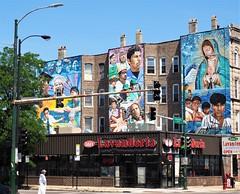 Increíbles Las Cosas Q' Se Ven (Brule Laker) Tags: chicago illinois caf pilsen chicagoarchitecturefoundation walkpilsen art murals jeffzimmerman