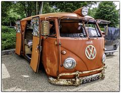 VW camper (Mirrorless for me) Tags: vw camper vwcamper slammer olympus olympusem1 goodwood microbus custom