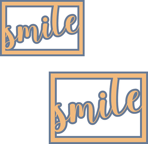 smile card front