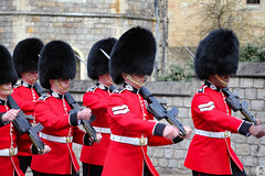 Scots Guards (Queen's Guard) (Can Pac Swire) Tags: windsor castle berkshire sl4 england english britain british royal residence great uk unitedkingdom soldier queensguards queensguard 2016aimg2301 scots guards