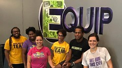 Much love to our new friend JP founder of & trainer at @Equip_Fit for putting our team through a real work out this morning. We'll be back 😅 and encourage all families and buddies to check out their personal training and group fitnesses right (YouthRunNOLA) Tags: youthrun running youth empowerment nola
