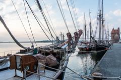 from an other century (rooibusch) Tags: altstadt germany mecklenburgvorpommern stralsund seglarträff hafen port haven segelboote strelasund