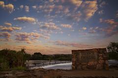 Ivanhoe Crossing (Jacqui Barker Photography) Tags: ivanhoecrossing westernaustralia australia thekimberleyaustralia kimberley kununurra exploreaustralia discoveraustralia travelaustralia causeway sunrise