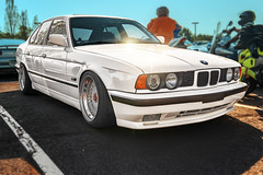 BMW 5 Series E34 (Cars & Coffee of the Upstate) (@CarShowShooter) Tags: beaconhill geo:lat=3486213018 geo:lon=8225747512 geotagged greer southcarolina unitedstates usa carsandcoffeeoftheupstate 2470 2470mm auto automobile automotivephotography bavarianmotorworks bayerischemotorenwerkeag bimmer bmw bmw5seriese34 bmwe34 bmwe34coupe cc camber car carphoto carphotography carshow carscoffee carscoffeeoftheupstate carsandcoffee classic classicauto classicautomobile classiccar classicvehicle cleanculture coche dropt e34 germanauto germancar germansportscar germanvehicle greenville greenvillecarscoffee greenvillecounty greenvillecountysc greenvillecountysouthcarolina greenvillesc greenvillesouthcarolina gsp importalliance importcar michelinnorthamericaheadquarters nikkor2470 pelhamroad performancecar photoshopcar photoshoplensblur sc sccarshow southcarolinacarshow sportscar stance upstatesouthcarolina vehicle véhicule vehículo voiture whitecar