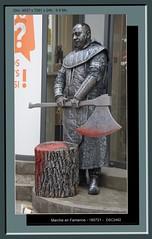 Province du Luxembourg, Marche en Famenne (chatka2004) Tags: provinceduluxembourg marcheenfamenne en marche statues