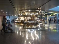 Hamed International Airport, Doha, Qatar  2018, shops (d.kevan) Tags: qatar doha hamedinternationalairport airports people shops atriums