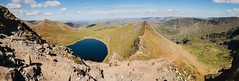 From Striding Edge (Benjamin Driver) Tags: striding stridingedge edge helvellyn lake district lakedistrict cumbria england north hills hill mountains mountain tarn red redtarn blue water green landscape landscapes land scape walking uk unitedkingdom panorama panoramic panoramiclandscape