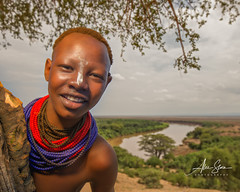 The Karo Girl from Kolcho (Omo Valley, Ethiopia 2014) (Alex Stoen) Tags: 1dx africa alexstoen alexstoenphotography canon canoneos1dx ef1635f28liiusm ethiopia facesofabyssinia flickr geotagged girl google kara karo kolcho natgeo nationalgeographicexpeditions omoriver omovalley portrait travel tribes vacation facebook smugmug