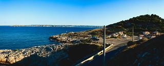 Marseille bord de mer