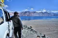 Pangong Tso..... Come Back Soon (pallab seth) Tags: sunshine morning camping pangongtso lake landscape panorama photo leh ladakh india travel tour nature himalayas mountain campsite photography colour breathtaking spectacular view extreme valley highaltitude
