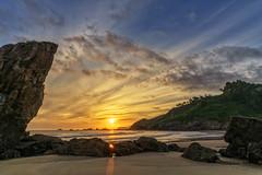 Asturien   Playa de Aguilar 19 (Wolfgang Staudt) Tags: asturia asturien spanien europa playadeaguilar atlantikküste strand beach atlantik costaverde attraktion tourismus baden badestrand ferien urlaub sommer fuerstentumasturien rheinlandpfalz deutschland de
