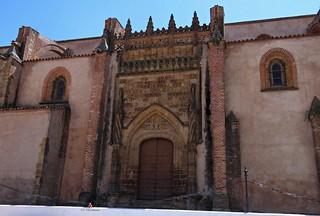 Azuaga, Badajoz, Extremadura, España. La Consolación.