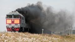 2ТЭ116-1673 (Pavel888) Tags: тепловоз локомотив грузовой ювжд деревня fujifilm fujinon xc50230mm xt2 дым smoke 2te116 2te1161673 2тэ116 2тэ1161673 1673 582км россия ржд russia rzd
