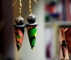 COLORFUL (Fimeli) Tags: polyclay polymerclay earrings handmade handwork