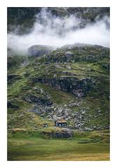 Cabin (Andreas Larzon Photography) Tags: gloom gloomy house boulders cabin fujinonxf552003548rlmois fog fujixt1 grass grassfield hordlandfylke landscape landscapephotography landskap landskapsfotografi midday mist mountain norge norway rock røldal sten summer travelphotography moss