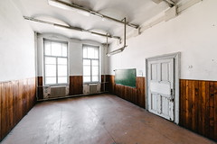 20/30 2017/08 (halagabor) Tags: urban urbex urbanexploration urbanexploring exploration exploring explorer school abandoned abandonment decay derelict devastation forgotten old lost lostplaces empty classroom window windows door budapest hungary architect architecture building indoor