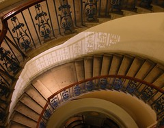 Courtauld Gallery interior (eardstapa_22) Tags: stairs staircase architecture
