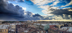 Back From Dramatic Saint Petersburg (AnyMotion) Tags: panorama skyline overview überblick approachingrain vordemregen sky himmel clouds wolken cityscape stadtlandschaft 2018 anymotion travel reisen saintpetersburg sanktpetersburg санктпетербу́рг russia russland 6d canoneos6d