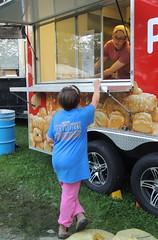 Food tents pretzels