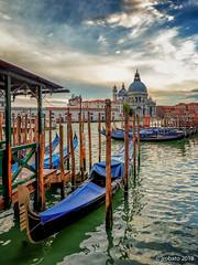 Done For The Day (orgazmo) Tags: venice venezia italy italia gondolas landscapes boats olympus omd em1mk2 leicadgvarioelmarit818mmf284asph panasonic leica micro43s m43s