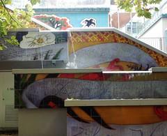 Progressive Mural (mikecogh) Tags: auckland mural progressive steps publicart streetart