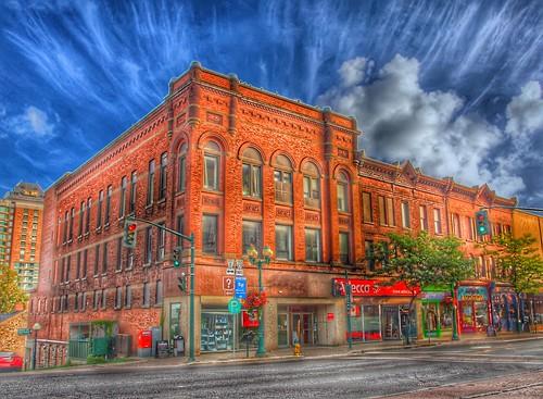 Brockville Ontario - Canada - Durham Block  -  47 - 57 King Street W - Robert Wright & Company Dry Goods