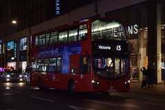 Tower Transit Wright Eclipse Gemini 2 bodied Volvo B9TL (VN37989 - BF62 UYA) 13 (London Bus Breh) Tags: transitsystems towertransit thewrightgroup wrightgroup wrightbus wright wrighteclipsegemini2 gemini2 volvo volvobus volvob9tl vn vn37989 bf62uya 62reg london buses londonbuses bus londonbusesroute13 route13 marblearch marblearchstation oxfordstreet tfl transportforlondon