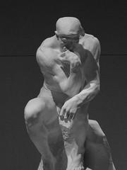 The Thinker (failing_angel) Tags: 010518 london camdenborough bloomsbury britishmuseum museum rodin rodinandtheartofancientgreece sculpture augusterodin pheidias thethinker parthenon