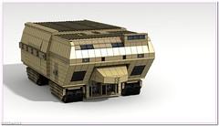 Lego Harvester. Dune 2. (BrickerNN) Tags: harvester dune dune2 atreides harkonnen ordos corrino houseatreides househarkonnen houseordos housecorrino spice scifi