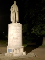 Statue of Richard Andrews in East Park (Andrews Park), Southampton (John D McDonald) Tags: richardandrews statue england britain greatbritain wessex geotagged iphone iphone7plus appleiphone appleiphone7plus