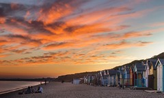 Fire in the Sky (Twiggy's Photography) Tags: milford sea coast sunset canon alan twigg summertime hampshire