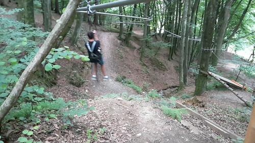 Sommerrodelbahn und Flyline