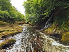 F7133719 E-M5ii 7mm iso200 f5.6 1_125s (Mel Stephens) Tags: rocks of solitude glen angus uk scotland aberdeenshire 20180713 201807 2018 q3 4x3 wide olympus mzuiko mft microfourthirds m43 714mm pro omd em5ii ii mirrorless water waterfall landscape river north esk