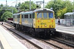COATBRIDGE CENTRAL 86627,86613 (johnwebb292) Tags: electric class 86 86613 86627 freightliner coatbridge