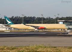 B-LXF Airbus A350 Cathay Pacific (@Eurospot) Tags: blxf airbus a350 a3501000 cathaypacific toulouse blagnac