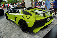 SV (Infinity & Beyond Photography) Tags: lamborghini aventador sv spyder aperta convertible exotic sports car supercar miami florida cars exotics supercars green wing