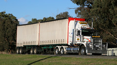 One WESTERN STAR - Many Roles (1/4) (Jungle Jack Movements (ferroequinologist)) Tags: western star 4 wagga sturt highway local tanker tank toll low loader tipper ryan tasmania robbos hp horsepower big rig haul haulage freight cabover trucker drive transport carry delivery bulk lorry hgv wagon road nose semi trailer deliver cargo interstate articulated vehicle load freighter ship move roll motor engine power teamster truck tractor prime mover diesel injected driver cab cabin loud rumble beast wheel exhaust double b grunt sunset dd fantasy
