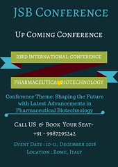 23rd International Conference on Pharmaceutical Biotechnology (smithkings147) Tags: biotech conferences 2018 book pharmaceutical biotechnology rome italy pharma congress conference upcoming international