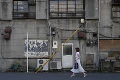 walk_1520929 (strange_hair) Tags: walk tokyo street nihonbashi girl woman lady building
